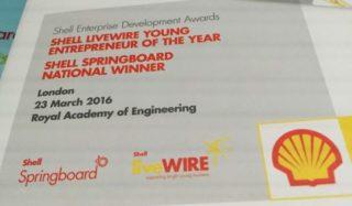 Shell LiveWIRE awards