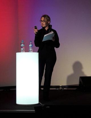 Jurga Zilinskiene at Vilnius Conference