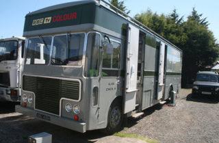 OB Truck – North 3, a Type 2 Colour mobile control room (MCR)