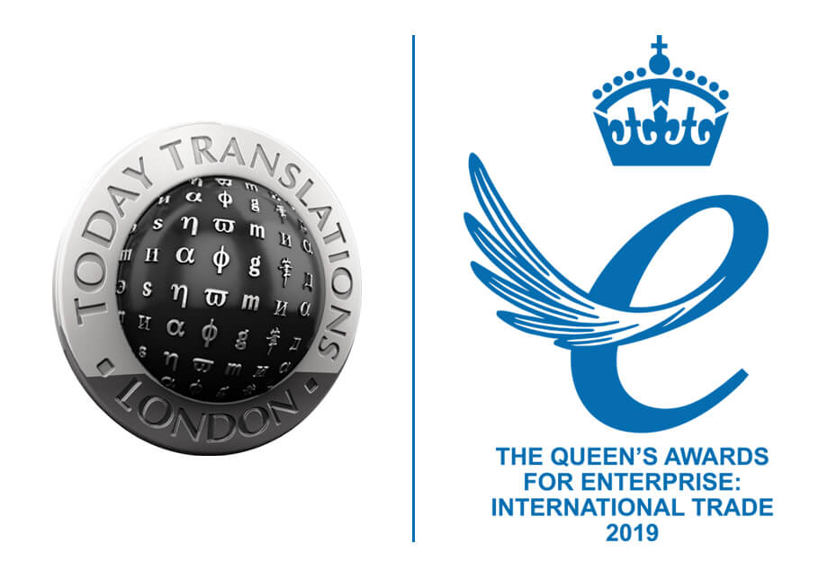 Today Translations Queen's Award for International Trade